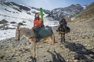 Sci alpinismo in Marocco