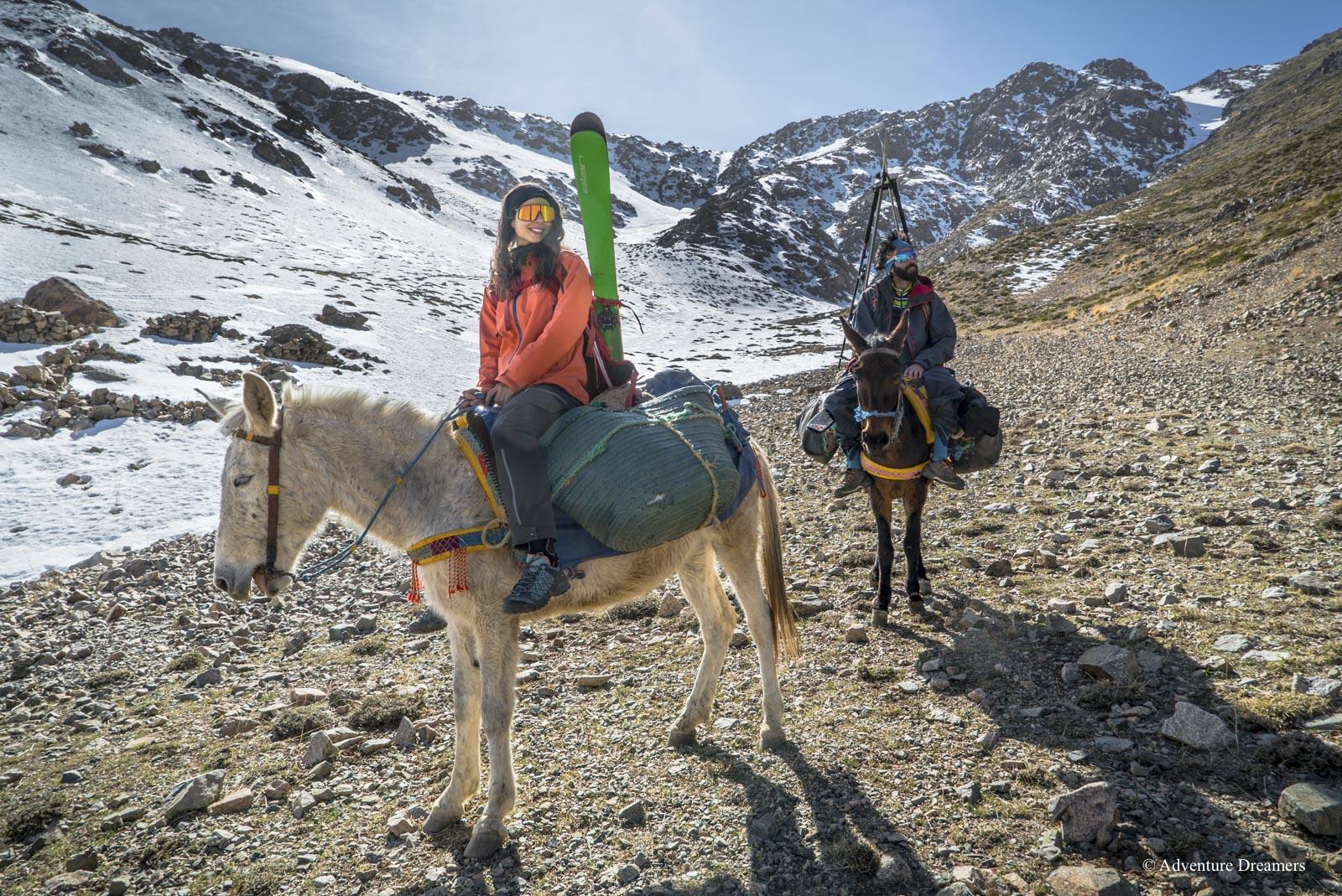 Sci-alpinismo-in-Marocco