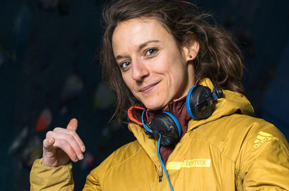 Melissa Le Nevé, arrampicatrice francesce