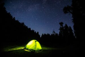 tenda, camping