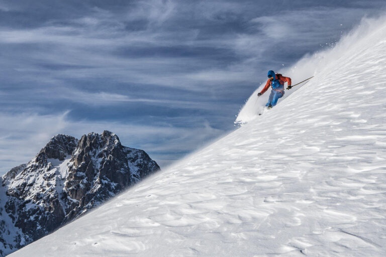 Sci alpinismo sul gran sasso