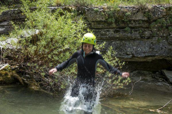 Canyoning Prati di Tivo