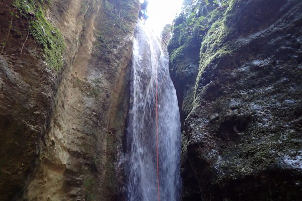 canyoning fosso della mola